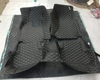 Fully Surrounded 3D 5D Black Car Floor Mats