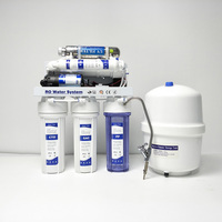 Domestic ro uv water purifier 6 stage reverse osmosis system home direct drinking water