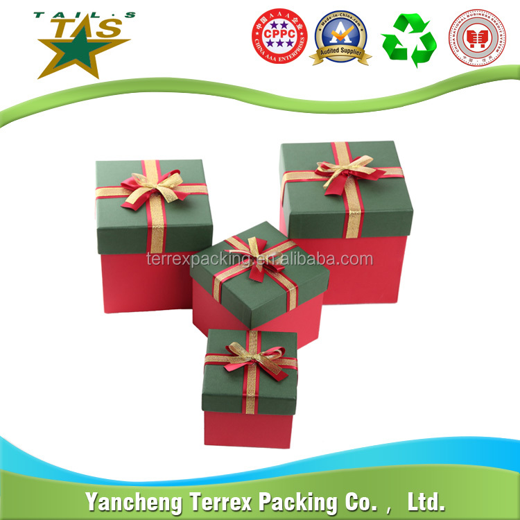 Printing services beautiful wholesale custom paper gift box with high quality