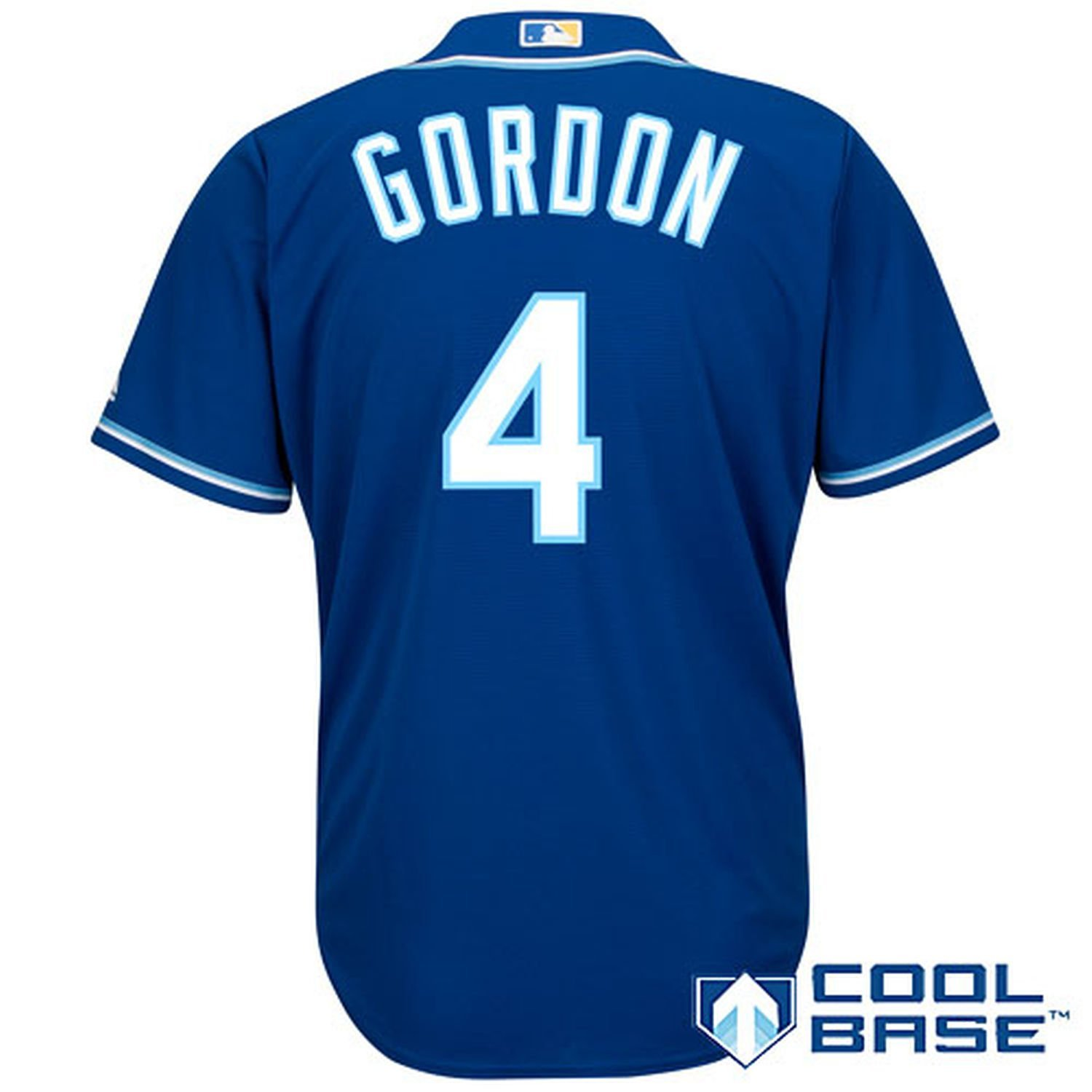 4b8388c15 Get Quotations · Alex Gordon Kanas City Royals Royal Blue Kids Cool Base  Alternate Replica Jersey