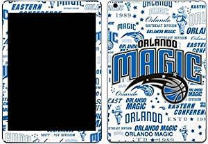 NBA Orlando Magic iPad Air Skin - Orlando Magic Historic Blast Vinyl Decal Skin For Your iPad Air