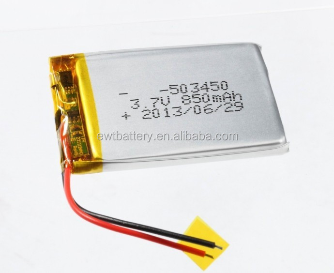 503450 053450 3.7v 850mah Lipo Battery Cell Li-ion 3.7v/850mah ...