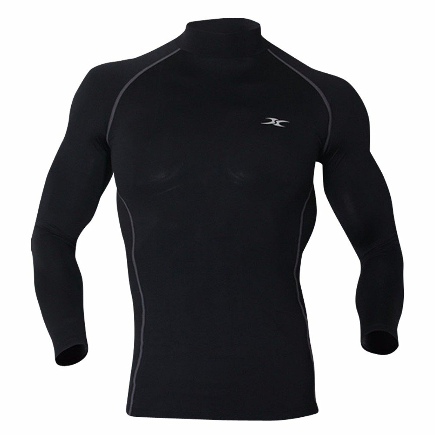 Lavento Mens Thermal Underwear Top Wicking Winter Warm Base Layer Shirts
