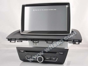 WITSON TAPE RECORDER DVD FOR MAZDA 3 2014 WITH 1.6GHZ FREQUENCY DVR SUPPORT WIFI STEERING WHEEL