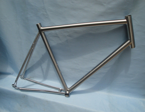 City 700C full titanium alloy road bike frame for single speed