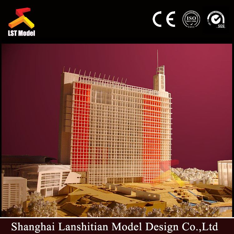 3D Max Model for Architecture/Miniature City Building Model/ho Scale Model