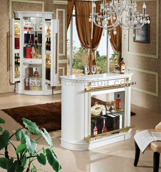 Living Room Furniture Boutique Style Solid Wood Glass Display