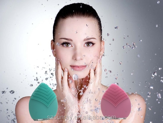 Private label cleaning machinery blackhead remover silicone facial cleanser face cleansing brush