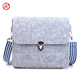 The latest Fashion felt single shoulder bag designed for ladies