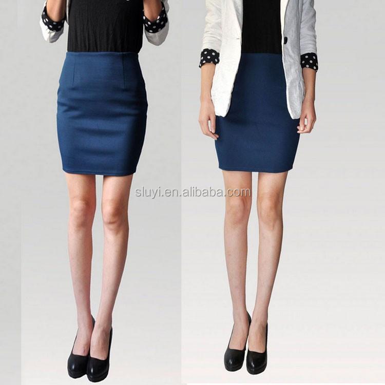 Guangzhou Office Wear Penci Skirt 2017 Summer Design Las