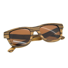 New Fashion Vintage zebra wood wooden Sunglasses Men Women Hand Made quality sunglasses