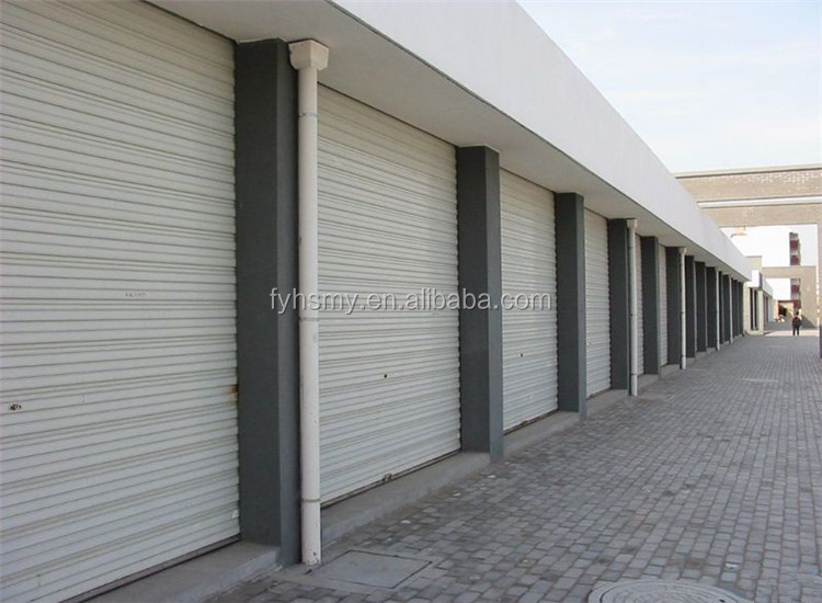 Hot Sale aluminum automatic electric remote control roller shutter door