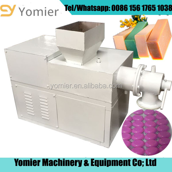 Different Capacity Hotel soap extruder/soap plodder/soap extruding machine