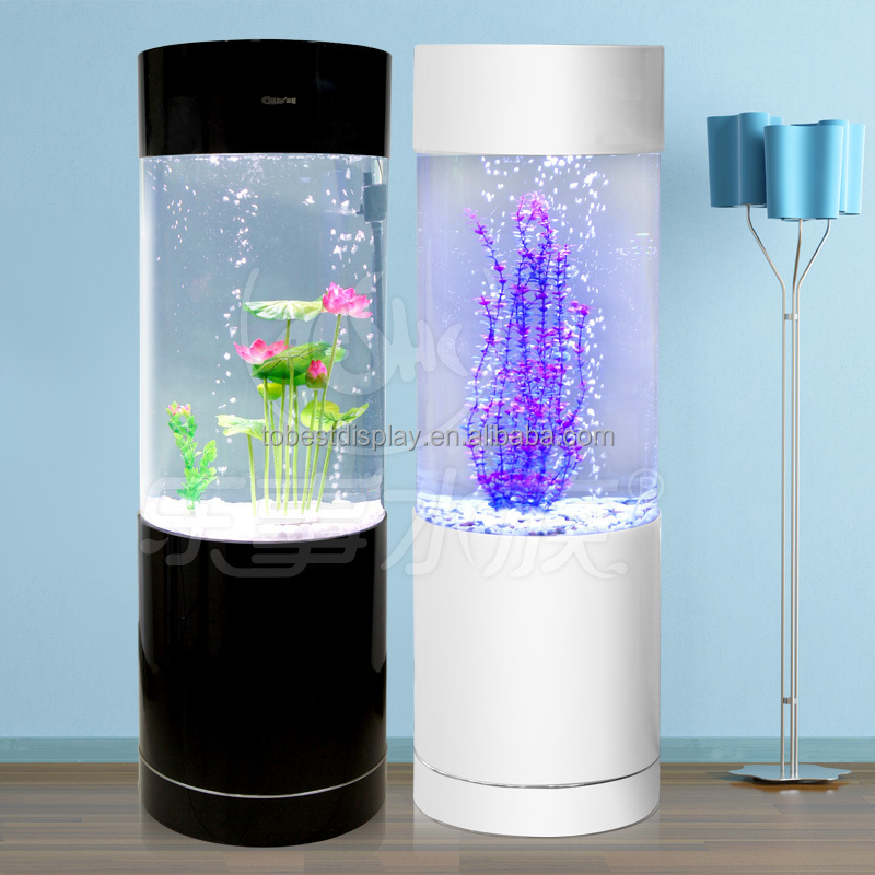 custom fancy fish tank can be placed photos,plastic aquarium tank