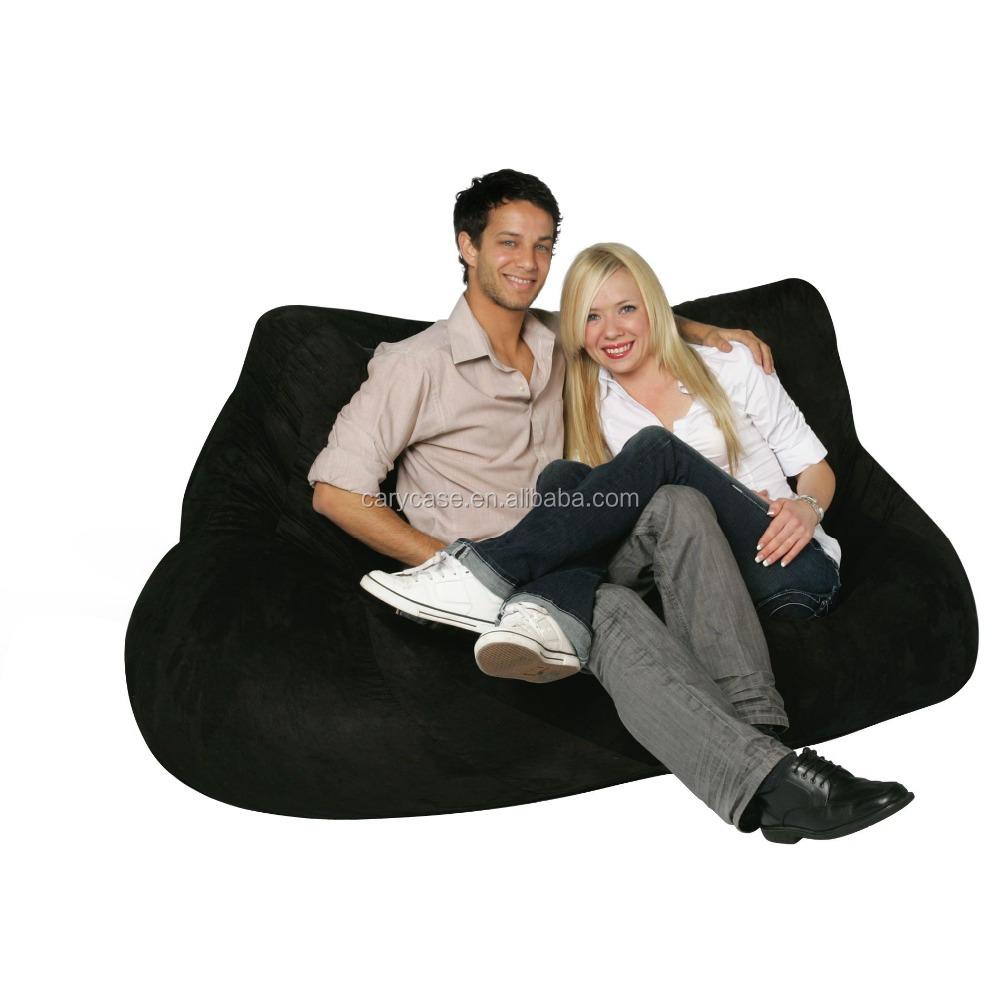 Double Lover Seat Indoor Bean Bag Sofa