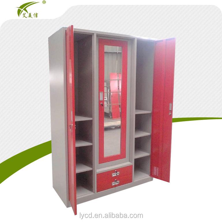 New Arrival Three Door Modern Design Bedroom Wardrobe ...