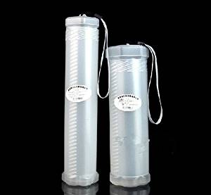 Transparent pen brush pen telescopic gouache transparent stretching pen holder elastic brush pot