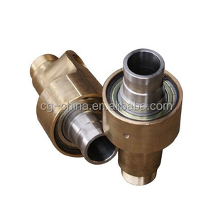 High performance water/ steam/ hot oil rotary union/ Rotary joint/ Swivel Joint with compact design