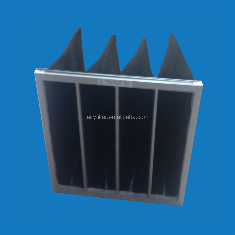 Airy Activated Carbon Air Bag Filter