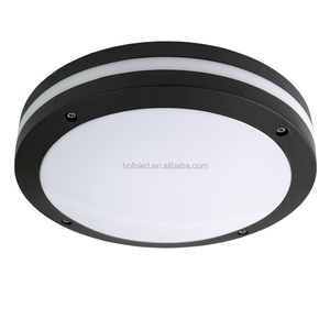 ip65 15w 20w sensor battery operated bulkhead light backup round led emergency ceiling light