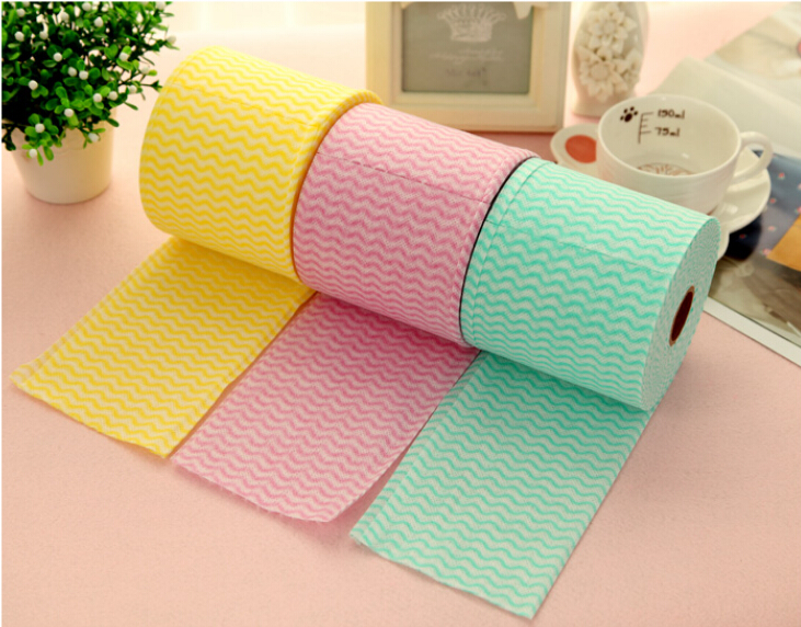 spunlace nonwoven cleaning wipes for household