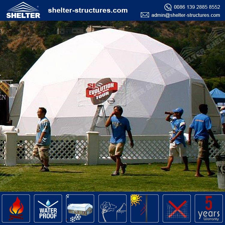Pacific stype 16 feet small Event Dome for sale