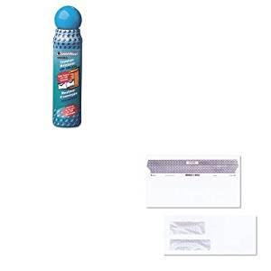 KITQUA46065QUA67529 - Value Kit - Quality Park Reveal-N-Seal Double Window Invoice Envelope (QUA67529) and Quality Park Envelope Moistener w/Adhesive (QUA46065)