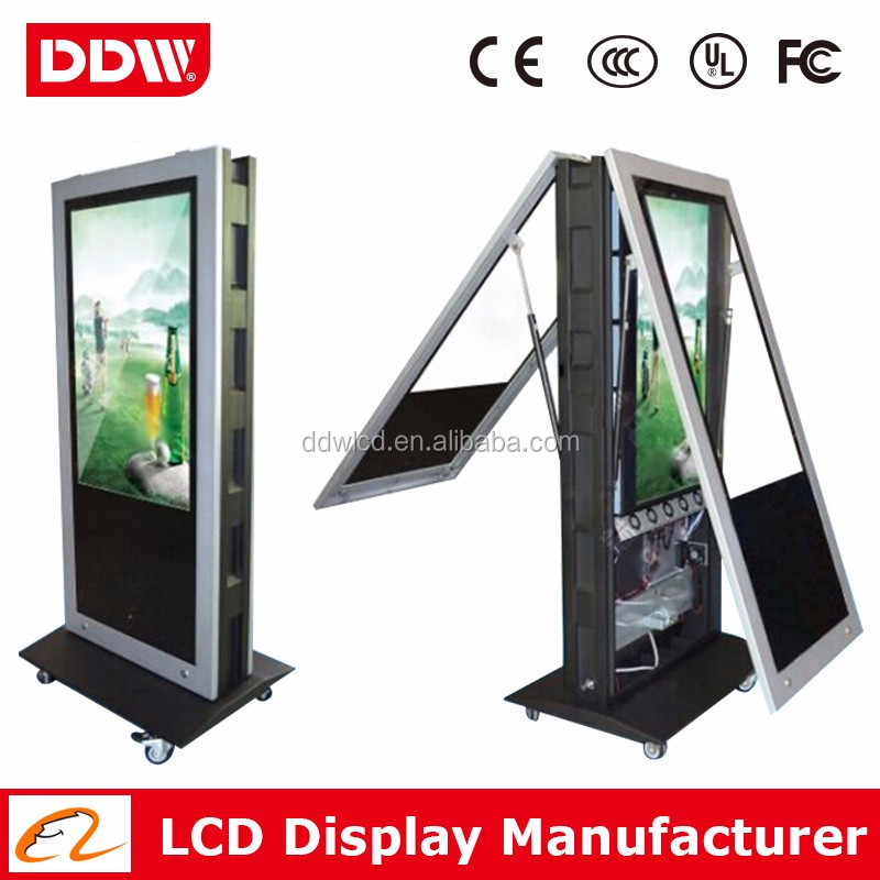 47'' 1920*1080 Support 3G/wifi Dual Sides Digital Signage Advertising Display
