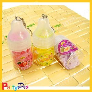 hot selling promotional milk bottle soap paper with keychain