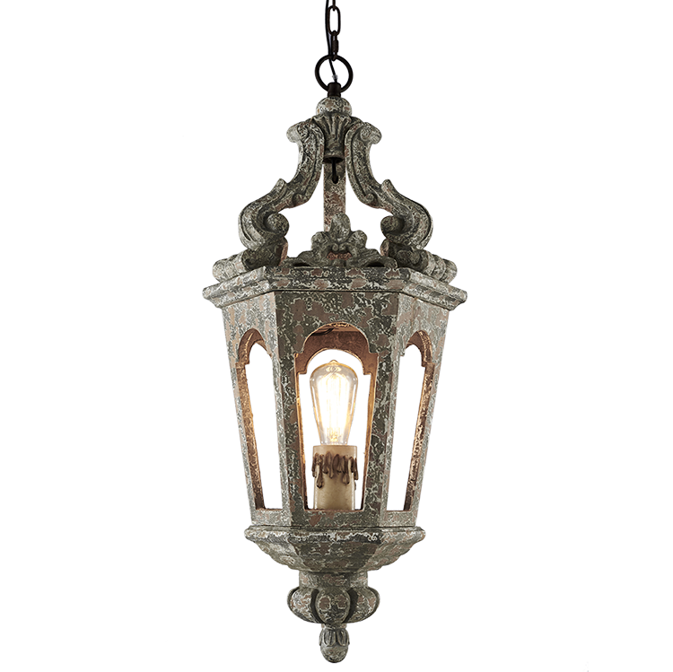 Middle East Arabic Islamic Mosque Wooden Light Fixture On