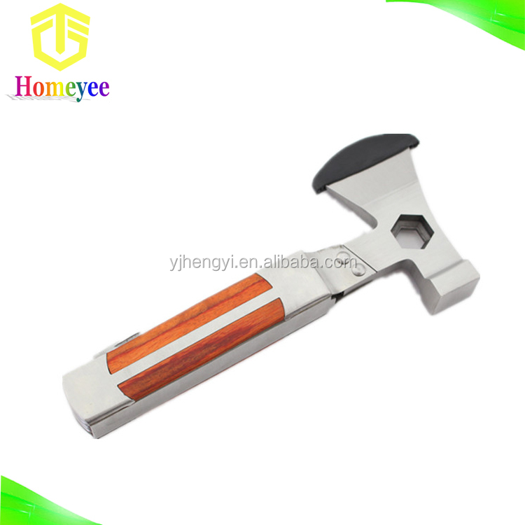 Multi Tools Stainless Steel Axe Hammer Portable For Camping Hunting Survival