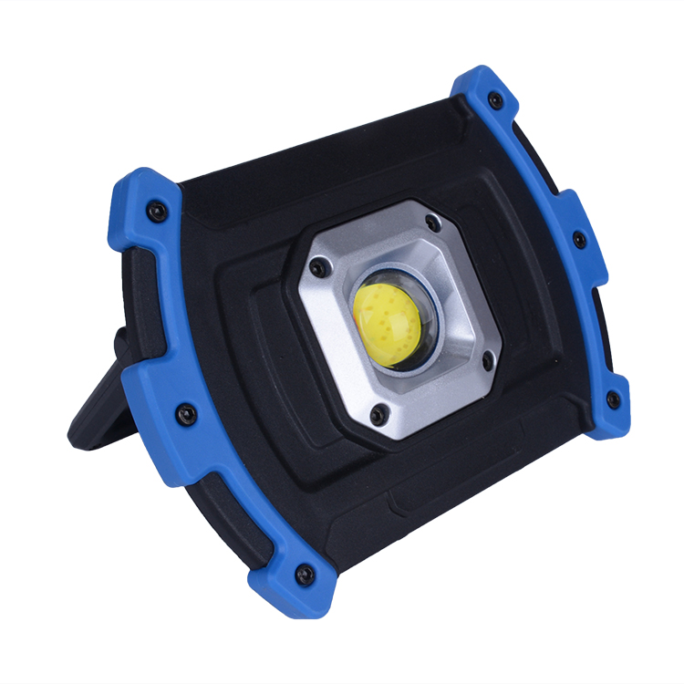 2019 Waterproof NylonTPR 5*AA battery 450Lumen High Power 5w COB Portable Led Battery vehicle work light