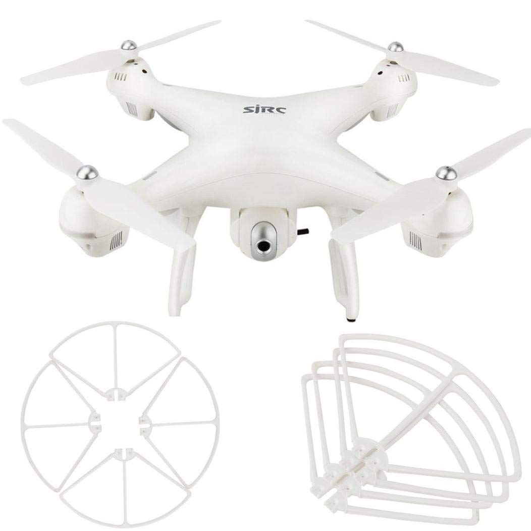 Quadcopter Kit,Dartphew 4pcs Propeller Guards Cover Accessory For Holy Stone HS100 S70W Quadcopter Helicopter Drone (White)
