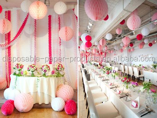Honeycomb Balls Decoration Alluring Honeycomb Balls Decor Ideas Wedding Honeycomb Ball Honeycomb Design Ideas