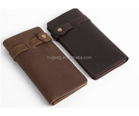 High quality business vintage men's wallet with cash ID credit cards slots