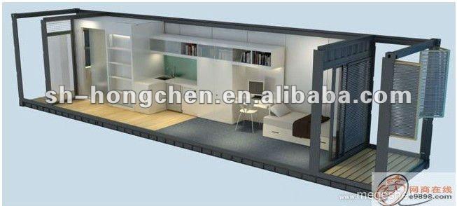 Contenitore di 40ft casa container case in vendita usato - Casa container italia ...