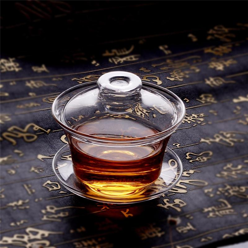 Brand new disposable clay making machine wholesale glass tea cup with high quality