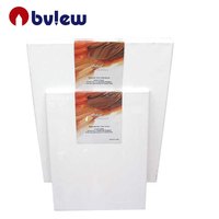 280g or 380g professional 16x20inch blank stretched wooden canvas