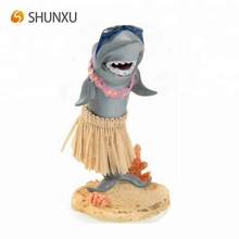 Hars Shark Grappige Hawaiian Mini Dashboard Hula Pop
