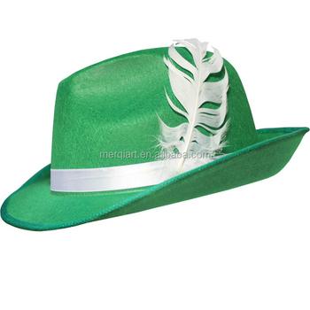 7fda2b82 Factory hot sell green german costume hat green oktoberfest hat supplier