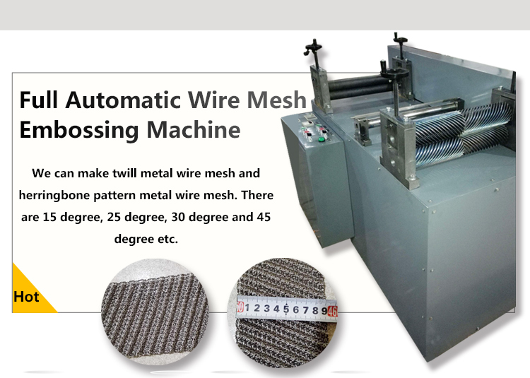 Perforated Metal Wire Mesh Knitting Machine(direct Factory ) - Buy ...