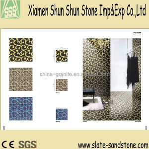Cheap Whosale swimming pool glass mosaic tiles