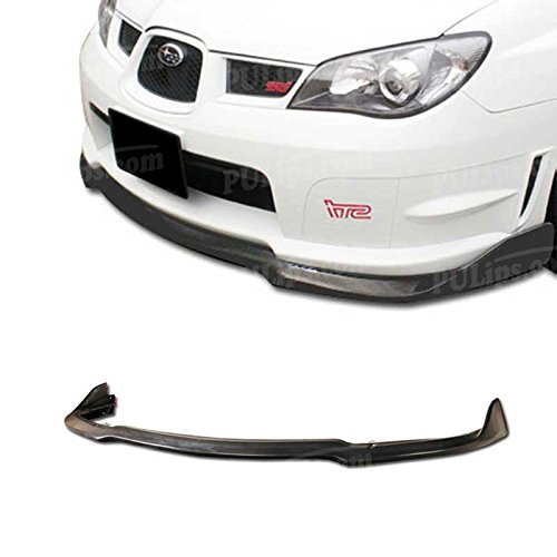 PULIps SUIP06CSFAD - CS Style Front Bumper Lip For Subaru Impreza WRX STI 2006-2007