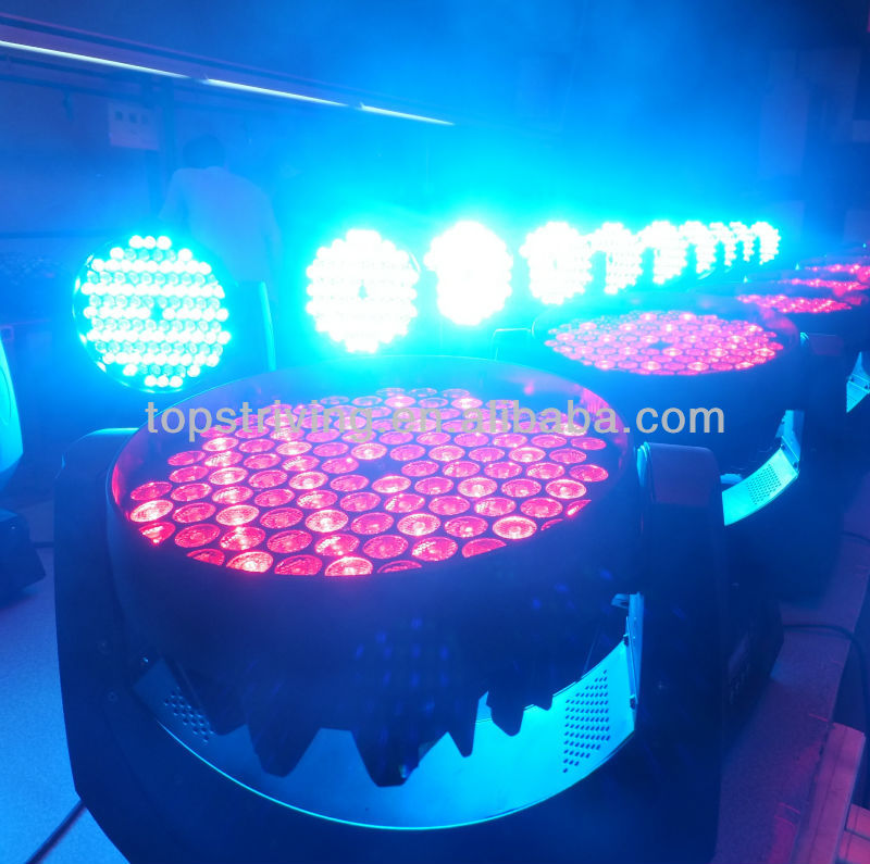 led stage lighting excellent color mixing and rainbow effect Strobe and pulse effect LED moving head wash light