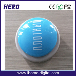 Custom Logo heartbeat voice recorder for plush toy quiz buzzer China
