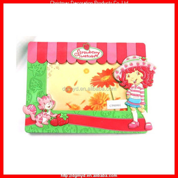 Strawberry Shortcake Rubber Photo Frame For Promotion Gifts (myd ...