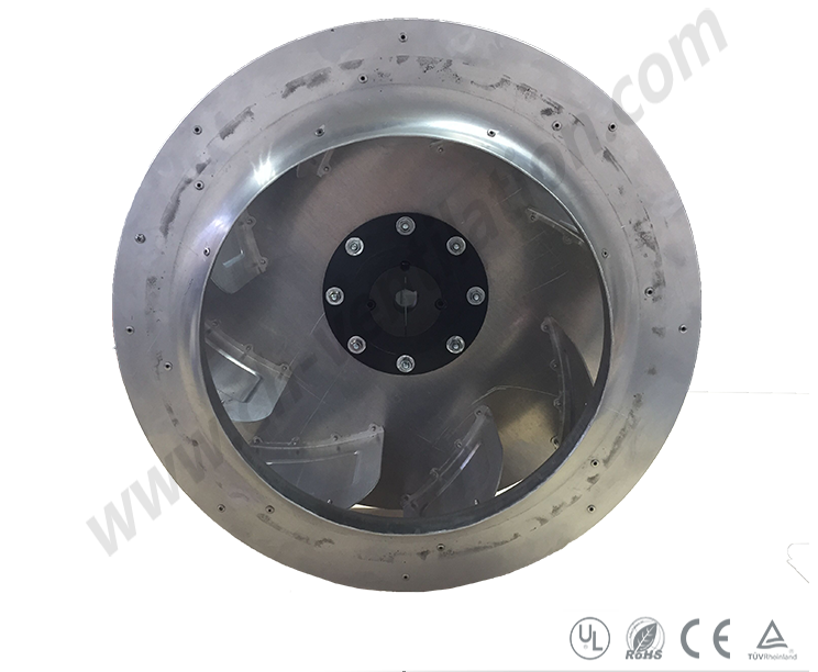 Low Price Backward Aluminum Anti-Cprrosion Fan Parts Impeller