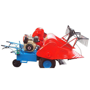 Multifunctional Paddy Mini Combine Harvester wheat harvesting machine rice combine harvester machine