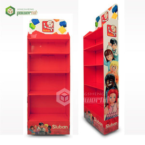 customized design advertising children toys cardboard POS display stand