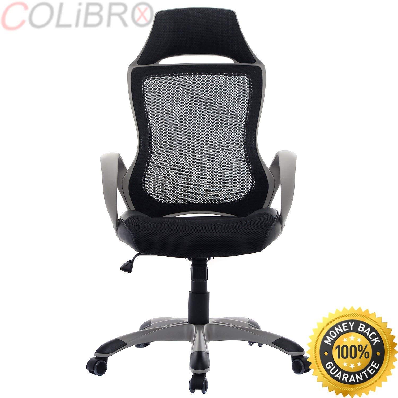 COLIBROX--New Modern Executive Ergonomic Mesh High Back Computer Desk Task Office Chair. high back mesh ergonomic computer desk office chair.stylish ergonomic office chair amazon.best office chair.